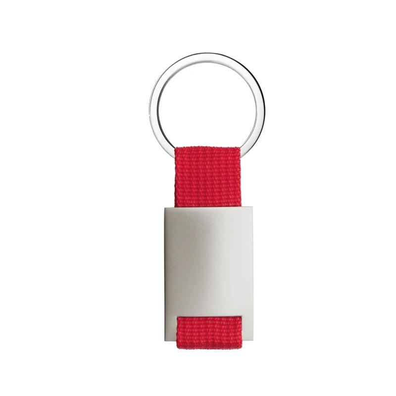 sølv hjerte m. synt rubin