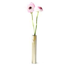 Læder armbånd 23 cm  brun