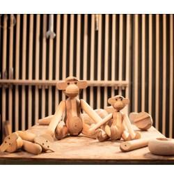 Oval sølv smykke