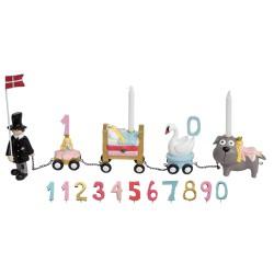Amulet hjerter guld