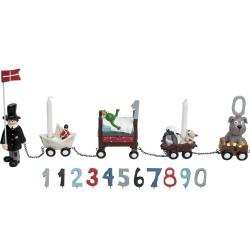 Amulet hjerte vedhæng rund