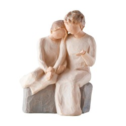 Rund ring med zirk sølv