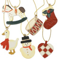Oval krom  - motiv kant blank