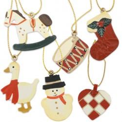 Hjerte glas vase