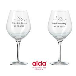 Sølv Armbånd hjerter 17cm