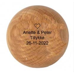 Alu flaske 0,75 L gul