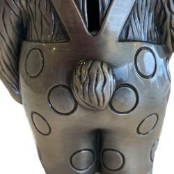Amulet sølv MUM oval