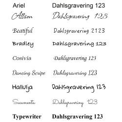 Lysemanchet til maxi stål