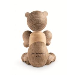 Lille  buet sølv kors