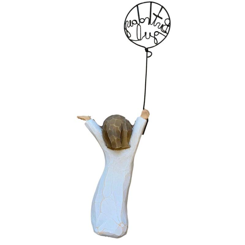 Kortholder Blå metal