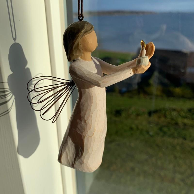 Hjerte ørestik blå