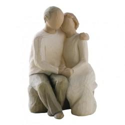 Statuette cykelrytter