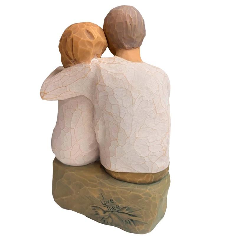 Læderarmbånd med stjerne.