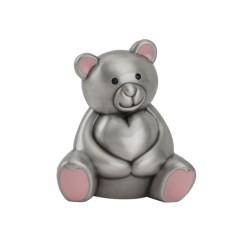 Citat valentin med sølv hjerte.