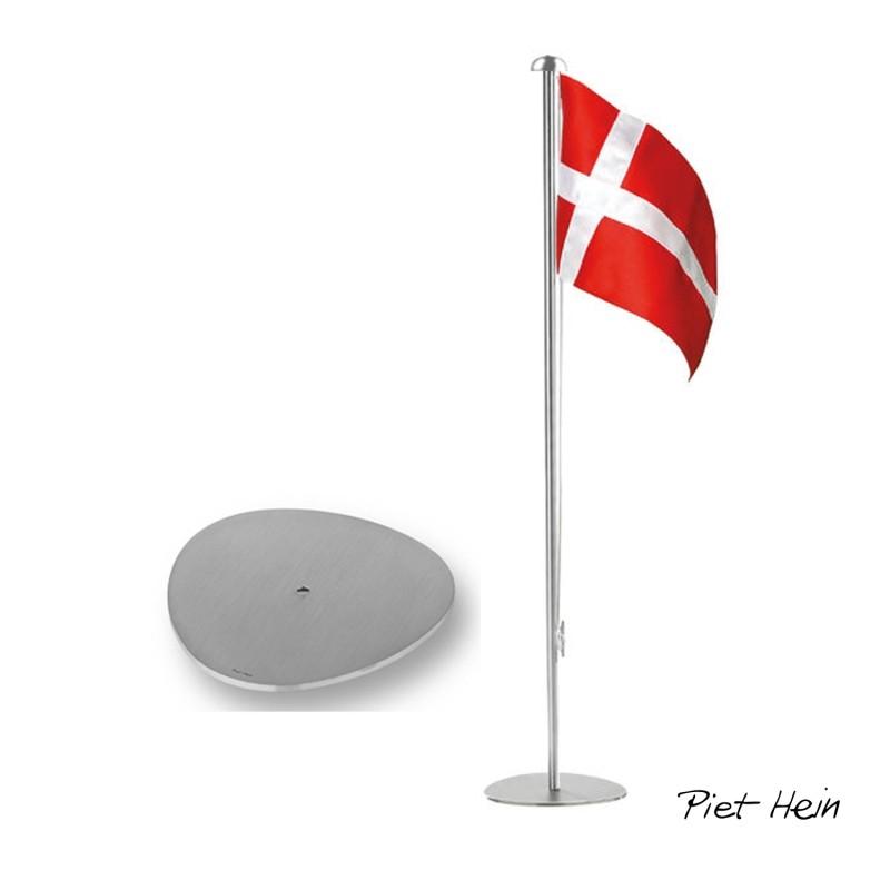 Hundetegn rødt med hvide poter