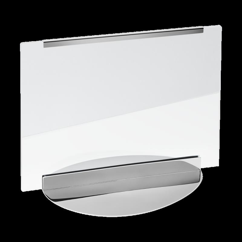 Hjerte nøglering med  rød læder