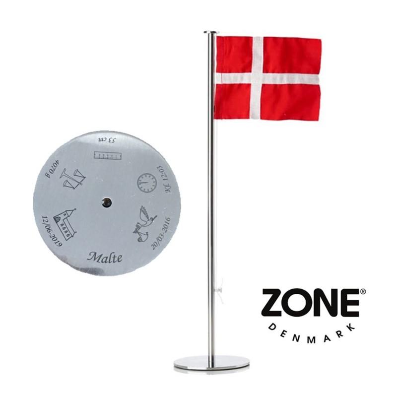 Hundetegn kødben sort lille